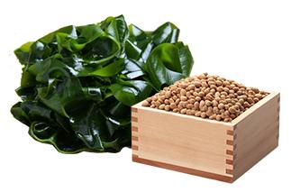 콩, 미역