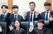 농아학생들의 '조용한 재판'