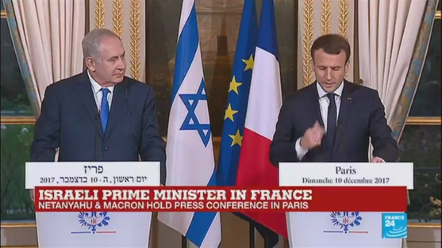 [France 24] Netanyahu in France: Press conference held by Macron in Paris