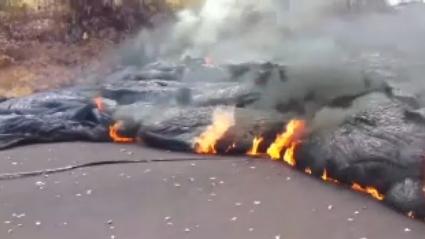 하와이 또 용암 분출…수백 미터 흐르며 인근 초토화