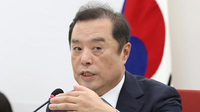 김병준 '공천 권한 생각 없어…비대위 끝나면 나갈 것'