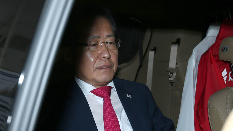 짐싸는 한국당…홍준표