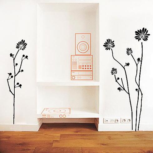 그냥 붙이세요, 스티커 벽지… 디자인이 붙어요 - 1등 인터넷뉴스 ...