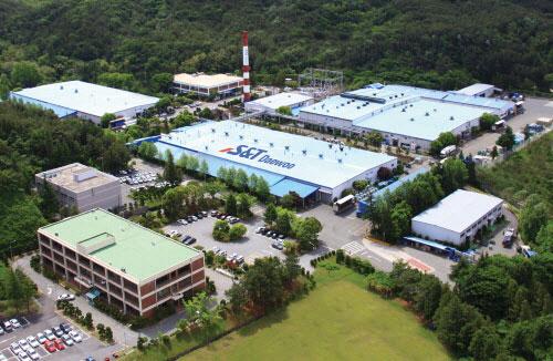 S&T대우 본사와 공장 모습.