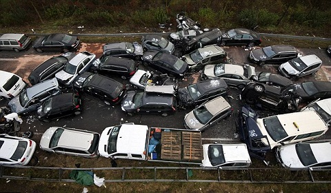 Big Sur Car Crash