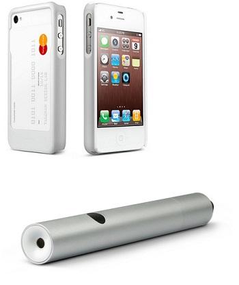 탱그램이 만든 스마트폰 케이스 '스마트 케이스'(상)와 레이터 포인터 '폴 1.5'(하)