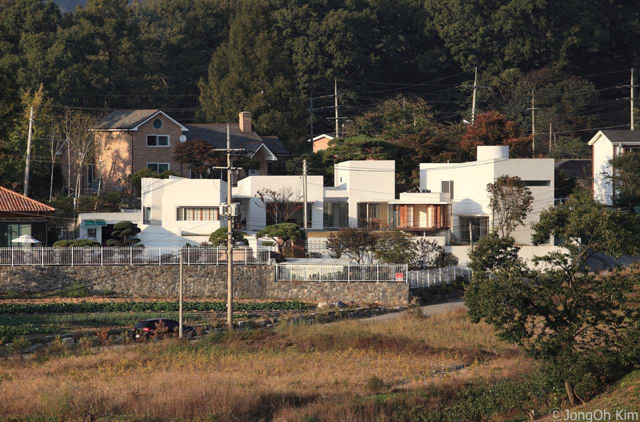 승효상이 설계한 '퇴촌 주택' : 네이버 블로그