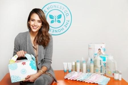 배우 제시카 알바는 친환경 유아용품을 만드는 '어니스트 컴퍼니(The Honest Company)'라는 스타트업의 공동 창업자다.