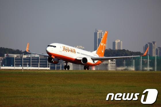 제주항공 여객기(사진제공=제주항공)© News1