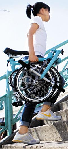 접이식 소형 자전거의 대명사 '브롬턴'
