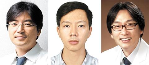 이광렬 교수, 부 넉판 박사, 허용민 교수 사진