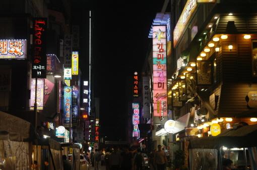 ▲ 밤 11시 30분의 북창동 거리 /사진=강지혜 조선비즈 인턴기자