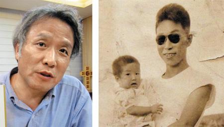 최일도 목사의 아버지 최희화씨가 큰딸 순열씨를 안고 웃고 있다. 8240부대 동키4부대 부부대장이었던 최씨는 북한 고향에 남아 있던 부인 현순옥씨와 갓난아기였던 큰딸을 섬으로 데려와 함께 살았다고 한다