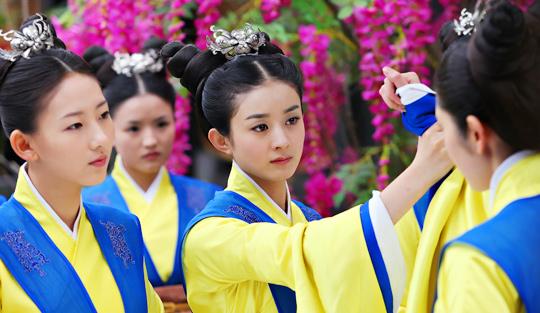 15일부터 중화TV에서 방영되는 올해 상반기 중국 최고의 인기 드라마 '여상육정' 사진