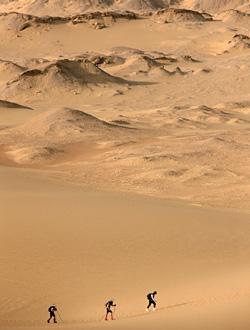 [주간조선] 구청 공무원 김경수, 그가 사막을 달리는 이유는...