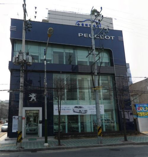 SH서울모터스 서초동 건물 모습 / 네이버 로드뷰
