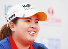 골프선수 박인비.