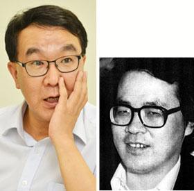 조유현씨(왼쪽)와 극작가 故 강월도.