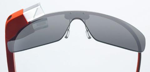 구글이 개발한 안경 형태의 스마트웨어 구글 글라스.