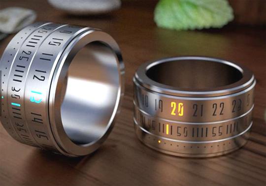 반지와 시계가 만들어낸 '스마트 반지'