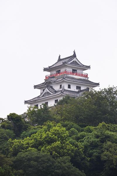 사가현의 유일한 천수각 성, 카라츠 성(唐津城)