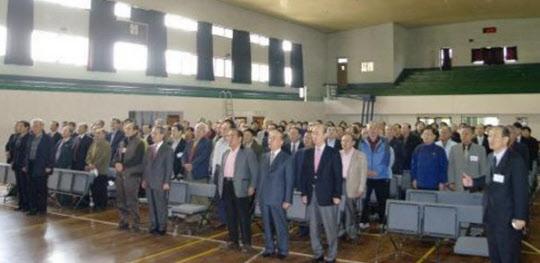 진주고등학교 졸업 50주년 기념 모교방문