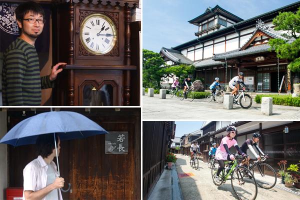 오사키시모지마 섬은 일본 특유의 소소한 마을 풍경을 사이클로 돌아볼 수 있다. 미다라이 마을은 일본 애니메이션 '모모의 다락방의 수상한 요괴들' 배경이 된 곳이기도 하다