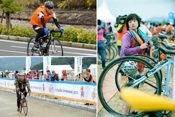 지난 10월 20일 시마나미해도에서 열린 '사마나미 사이클링 대회'