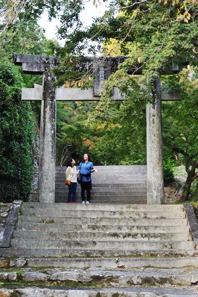 '쿠넨안' 주변에는 포근한 흙길과 약 60종의 단풍나무로 우거져 있다.
