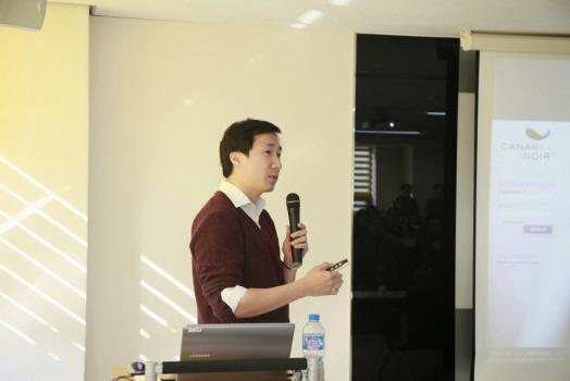 지난 3일 조선비즈 연결지성센터에서 모바일 중심으로 변화하는 전자상거래의 전망에 대해 발표하는 추연진 홈디포 프로덕트 매니저/연결지성센터