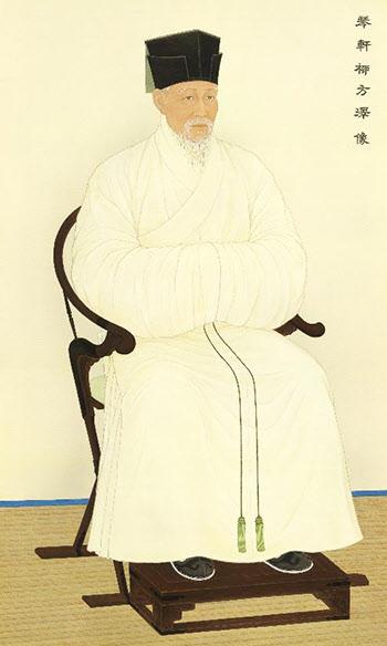 복원된 금헌 류방택의 초상. ⓒ조용진