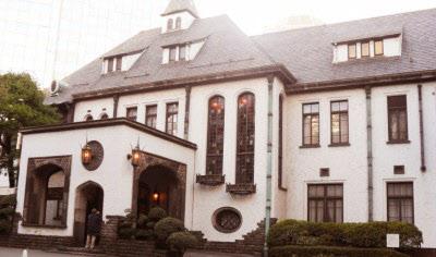 1929년 10월 신축돼 영친왕이 거주했던 일본 동경 아카사카의 4층 저택. 후에 프린스호텔 별관이 된다.