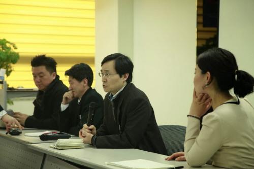 박상학 KT 클라우드 사업추진팀장이 참가자들의 질의 응답에 답변하고 있다./최지웅 연구원