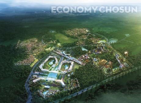 홍콩란딩·겐팅싱가포르가 공동 개발할 제주도 신화역사공원 복합리조트