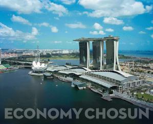 싱가포르 마리나베이샌즈 복합리조트