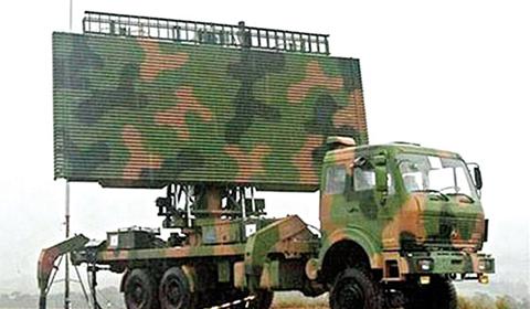 중국의 스텔스기 탐지 레이더