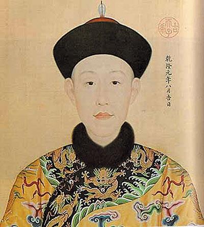 건륭제의 초상화./사진=북경 고궁박물원