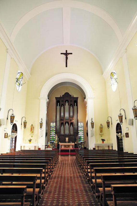 1560년에 건설된 성 라자러스 성당. / 마카오관광청 제공