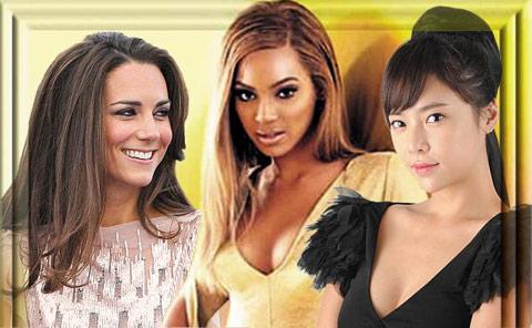 개성 강하고 취향이 까다롭기로 이름난 많은 여성 유명인들도 조 말론의 팬을 자처한다. 케이트 미들턴, 비욘세, 황정음(왼쪽부터).