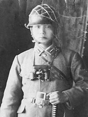 1944년 만주군 시절의 박정희.