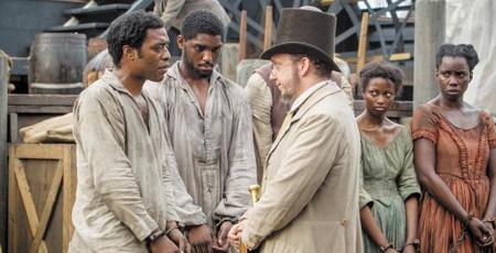 영화 '노예 12년' 장면