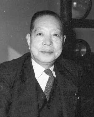오노 반보쿠 전 자유당 부총재.