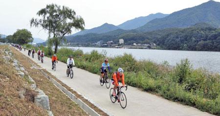 북한강 자전거 길