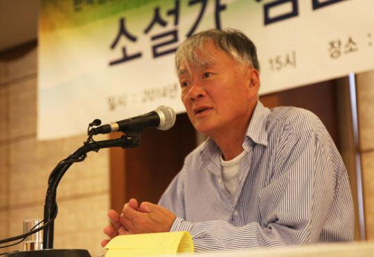 """[강연] 작가 김훈 """"나는 왜 쓰는가"""""""