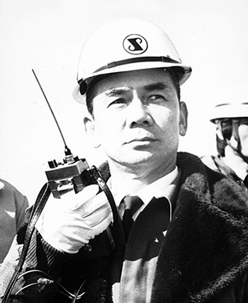 박태준 포항제철 회장.