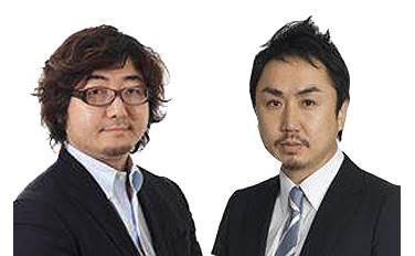 모리카와 아키라 라인주식회사 사장(왼쪽), 이데자와 다케시 라인주식회사 COO