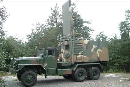 아서-K 대포병 레이더