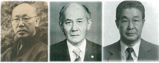 박태준과 포항제철을 위해 헌신해준 야스오카(왼쪽부터), 야기, 박철언 3인의 1960년대 모습.