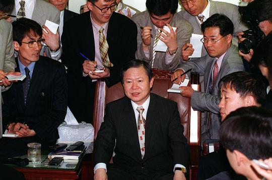 1997년 5월 당시의 심재륜 대검 중수부장.