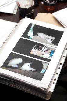조민호(가명) 씨가 촬영한 영상 캡쳐. 성행위를 하는 중 강제로 영상을 촬영했다고 김 양 측은 주장했다. /사진 강현욱